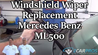 Windshield Wiper Replacement Mercedes Benz ML