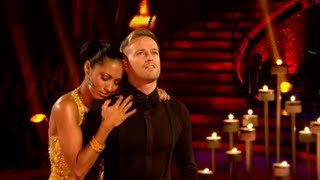 Nicky Byrne & Karen Hauer Waltz to 'I Wonder Why' - Strictly Come Dancing 2012 - Week 1 - BBC One