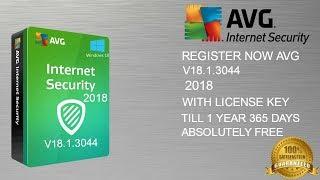 RegisterAVGInternetSecurity2018V18.1.3044WithLicenseKey100%working