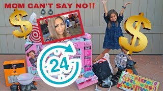 MOM CAN'T SAY NO! KIDS IN CONTROL FOR 24 HOURS!