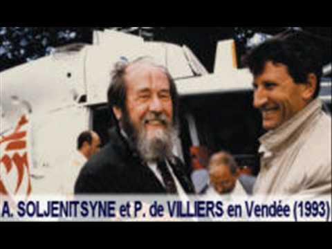??????? ??????????? ?????? De Villiers rend hommage à Soljenitsyne