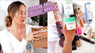 huge sephora makeup haul: nars, drunk elephant, benefit cosmetics, and more!