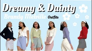 ♡ 13 Dreamy And Dainty Brandy Melville Outfits ♡ (try-on Haul)