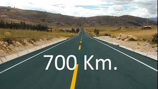 700 Km. Pista