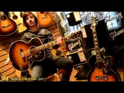 Gibson vs. Epiphone - J-200 Standard and the EJ-200CE Demo at GAK!