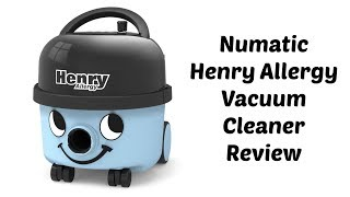 Numatic Henry Allergy Vacuum Cleaner Review [AD]