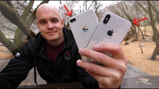 iPhone X DROP TEST - The most Expensive glass ever on a smartphone!! - dooclip.me