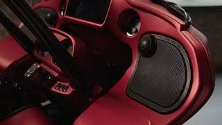 Harley-Davidson Boom Audio Stage 1 and Stage 2 Upgrade System