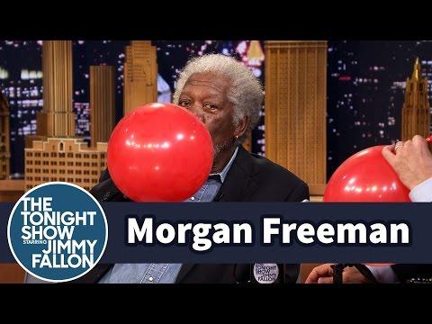 Morgan Freeman har den beste heliumstemmen