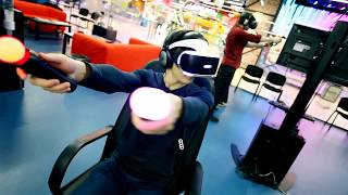 Первая сеть клубов виртуальной реальности Virtuality Club - ПРОМО ВИДЕО