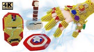 Cara Membuat Peralatan Avengers Dan Gaos Infinity Infinity Dari Bola Magnet (Kepuasan) | 4 Rb