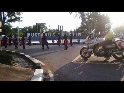 HUT BRI di Depan Bustanul Salatin Kota Banda Aceh