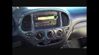 Toyota Tundra Car Stereo Removal