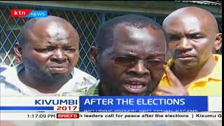 Kisumu governor elect Anyang Nyong'o urges shop keepers to re-open their stalls