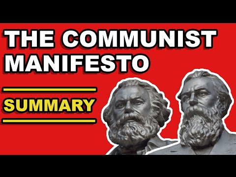 THE COMMUNIST MANIFESTO SUMMARY | Karl Marx & Friedrich Engels explained with quotes