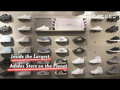 All Day I Dream About the Largest Adidas Store in the World