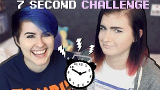 7 SECOND CHALLENGE w/ my sister