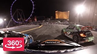 360º – 2014 Red Bull Global Rallycross Las Vegas Finale