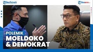 Polemik Moeldoko, Sempat Membantah Isu Kudeta Partai Demokrat