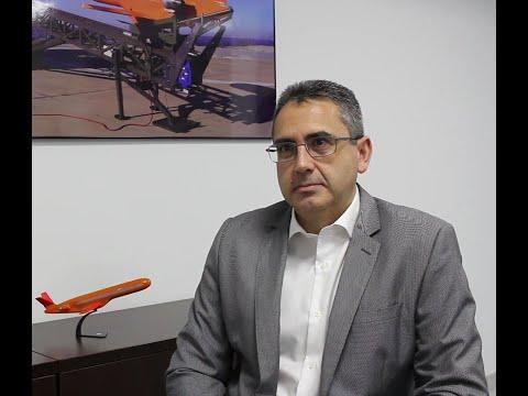 """J. A. Ceballos (SCR): """"En UNVEX vamos a presentar nuestros blancos aéreos Scrab III y el mini RPAS Tucán"""""""
