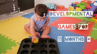 How I entertain my 11 month old / Developmental games for 11 month +