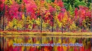 Andy Williams- AUTUMN LEAVES with lyrics- Bich Thuy- Mar 2012