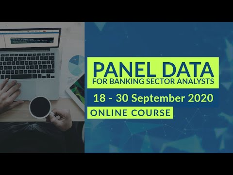 Panel Data for Banking Sector Analysts - Online course - YouTube