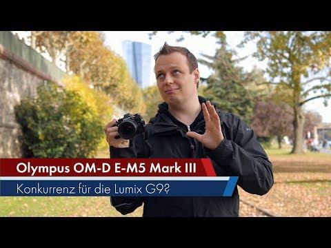 Olympus OM-D E-M5 Mark III | Mittelklasse-DSLM im Test [Deutsch]
