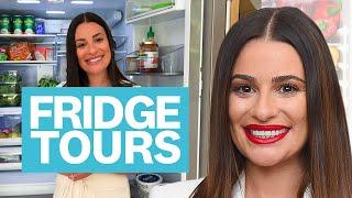 Lea Michele Shares Her Love For Buffalo Sauce & Organic Wine   Fridge Tours   Women's Health