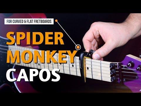 ORTEGA GUITARS | SMCPAD SPIDER MONKEY CAPOS