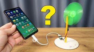 Можно ли зарядить смартфон от Мини Ветряной Электростанции с Алиэкспресс?