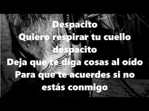 Luis Fonsi, Daddy Yankee - Despacito ft. Justin Bieber - Lyrics [HD]