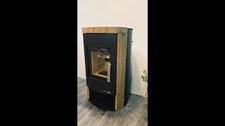 Камінофен Haas+Sohn Madeira speckstein (кахельна піч ) від компанії House heat - відео 2