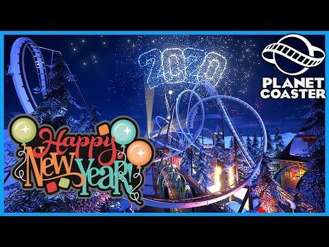HAPPY NEW YEAR: New Years Bang! Coaster Spotlight 691 #PlanetCoaster
