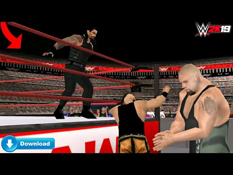 WWE 2K19 FOR ANDROID WORK ON EVERY DEVICE'S DOWNLOAD NOW By MR.AJ SVR