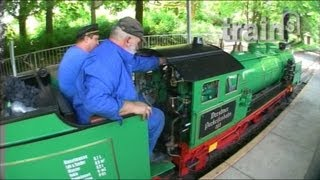 preview picture of video 'Dresden's Park Railway - Parkeisenbahn Dresden'