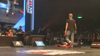 TOMOKO vs Twin Twiggz DANCE@LIVE 2013 JAPAN FINAL HIPHOP 【QUARTERFINAL】