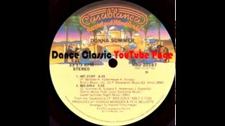 "Donna Summer - Hot Stuff/Bad Girls (12"" Version)"