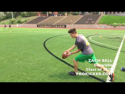 Zach Bell, Prokicker.com Punter, Class of 2020
