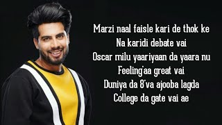Oscar (Lyrics) - Singga | New punjabi song - YouTube