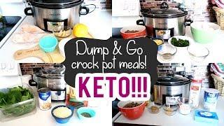DUMP & GO CROCK POT MEALS   KETO CROCK POT MEALS 2020