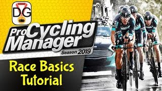 Pro Cycling Manager 2019 - Race Basics Tutorial
