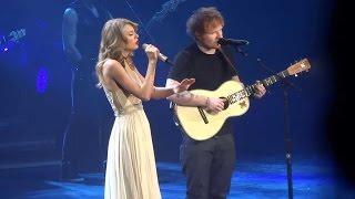 Taylor Swift Ft. Ed Sheeran - I See Fire (DVD The RED Tour) Bônus