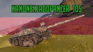 World of Tanks // KANONENJAGDPANZER 105 REVIEW HQ