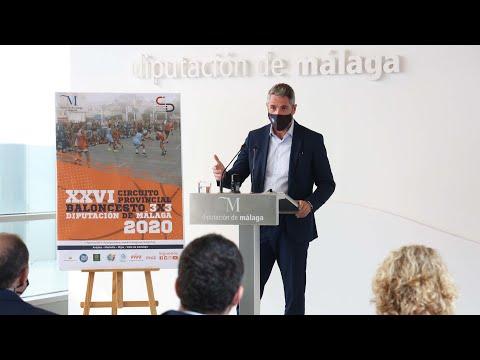 Presentación del Circuito Provincial de Baloncesto 3x3 Diputación de Málaga 2020