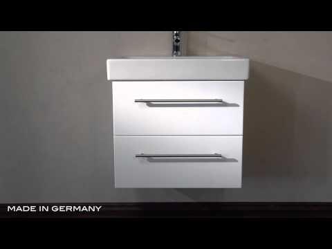 Badmöbel Keramag Icon 60 cm weiss hochglanz