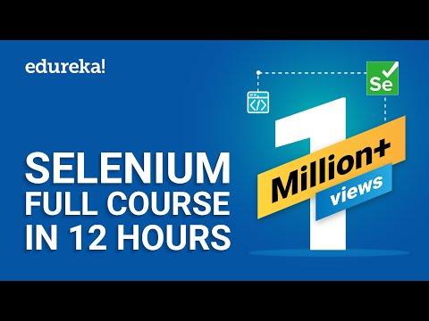 Selenium Full Course - Learn Selenium in 12 Hours | Selenium ...