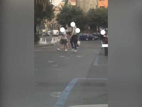 PESTAGGIO IN PIAZZA EROI, STRANIERO ARRESTATO DALLA POLIZIA E ALTRO RICERCATO