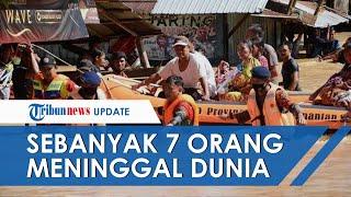 UPDATE Banjir Kalsel, 7 Warga Meninggal di Kabupaten Hulu Sungai Tengah
