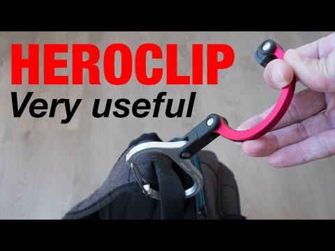 Heroclip – Versatile Rotating Carabiner Hook Clip (review)